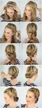 Easy Updo Hairstyles Step By Step by Bun Hairstyles For Your Wedding Day With Detailed Steps And