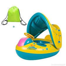 bouée siège pour bébé uleade bouée gonflable avec siège pour bébé avec gonfleur en pvc