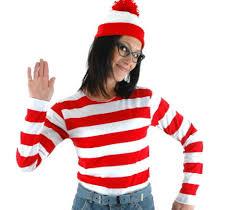 where s waldo costume where s waldo now white stripes costume women t
