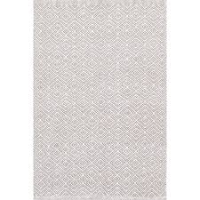 White And Gray Rugs Marled Grey Woven Cotton Rug Dash U0026 Albert