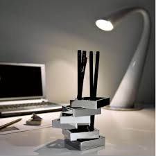 philippi design pen holder zick zack in a stunning design desk accessories