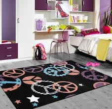 tapis chambre ado fille tapis chambre ado fille tapis peace noir tapis pour garon