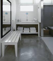 bathroom flooring concrete floor bathroom beautiful home design