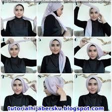 tutorial jilbab segi 4 untuk kebaya tutorial hijab paris untuk kebaya simple dan mudah terbaru 2017