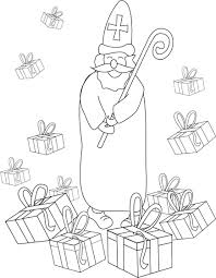 coloring saint nicholas holidays special occasions 39