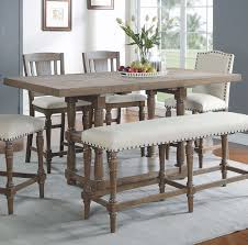 High Dining Room Tables And Chairs Fortunat Counter Height Extendable Dining Table Reviews Birch