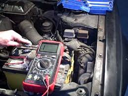 checking car wiring circuits for continuity with a multimeter