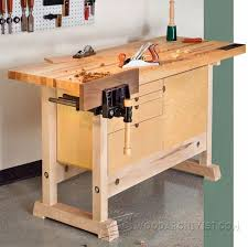Simple Wood Workbench Plans by 673 Best Workbenches Images On Pinterest Workbench Plans