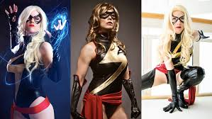 Ms Marvel Halloween Costume Captain Marvel Ms Marvel 2015 Cosplay Collection