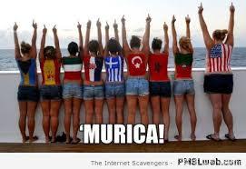 Murica Meme - 5 girls in murica meme pmslweb