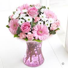 flower delivery uk send flowers the pink gift isle of wight flowers