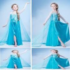 Halloween Costumes Elsa Frozen Elsa Costume Inspired Dress 4t Satin Style Skirt