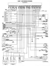 1989 nissan stanza nissan 1986 93 diagramas esquemas ubicacion de componentes