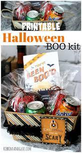 halloween boo halloween boo kit with printable
