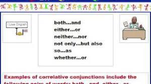 english grammar correlative conjunction youtube
