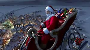 2013 santa claus christmas in snowy village 720hd youtube