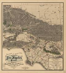 Map Of Los Angeles County by Sectional U0026 Road Map Of Los Angeles County Including Part Of