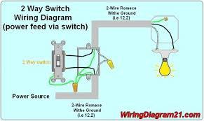 how wire light switch diagram meteordenim