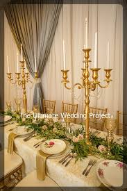 candelabra rentals special event rentals from the ultimate wedding project toronto gta