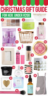 christmas gift guide 2015 for her under r200 pink peonies