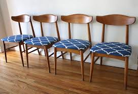 Blue And White Dining Chairs by Dining Chairs Picked Vintage