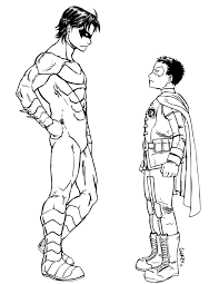 free printable superhero coloring pages 11641