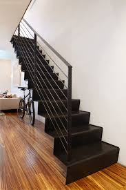 Free Standing Stairs Design New York Folding Freestanding Staircase Contemporary With Cable