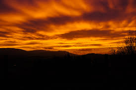 Sunset Orange by Free Stock Photo Of Clouds Cloudy Dawn