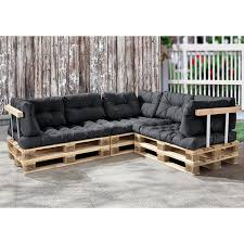 sofa paletten en casa palettenkissen 11 teilig sitzpolster rückenkissen