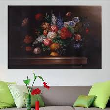 best print no 315 flower wall painting amazing oil painting color