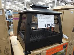 Patio Furniture With Fire Pit Costco - outdoor fireplace costco outdoor furniture design and ideas