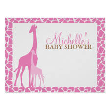 baby shower welcome sign baby shower posters zazzle