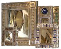 Mexican Wall Sconce Mexican Tile Mirror 0011 Rustica House