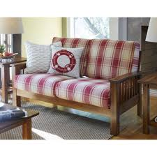 handy living ennis floral loveseat with pillows free shipping