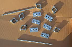 diy industrial curtain rod brackets and finials u2022 the vanderveen