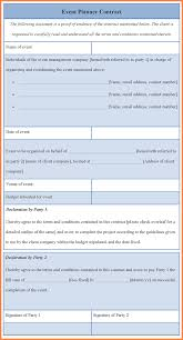 meeting planner checklist template 5 event planner contract template invoice example 2017 related for 5 event planner contract template