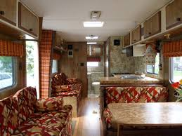 Camper Interior Decorating Ideas by Rv Interior Vintage Motorhome Motorhome Interior And Motorhome