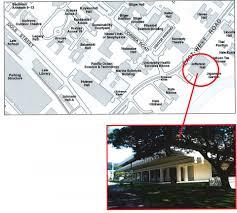 Uh Manoa Campus Map Ashrae Hawaii Meeting Info