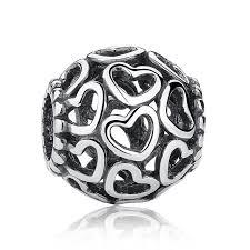 pandora charm bracelet sterling silver images Hot sale 21 styles 100 925 sterling silver vintage openwork beads jpg
