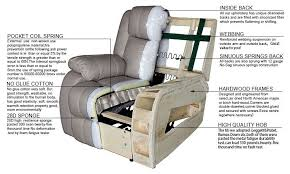 Sofa Recliner Mechanism White Home Comfortable Recliner Sofa Chair Furniture Manual