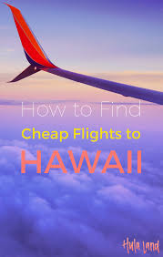Hawaii how to travel cheap images How to find cheap flights to hawaii booking cheap hawaii airfare png