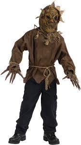Scarecrow Mask Kid U0027s Scarecrow Costume Child Halloween Fancy Dress Escapade Uk