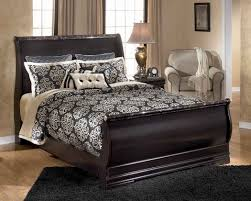 Leather Sleigh Bed Queen Size Leather Sleigh Bed Length Of Queen Size Sleigh Bed