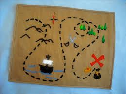 bedtime tales treasure map