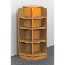 Corner Bookcase Oak Curvy Corner Bookcase Reading Corner Furniture