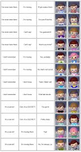 acnl hair color guide animal crossing new leaf face guide life in kyoto village