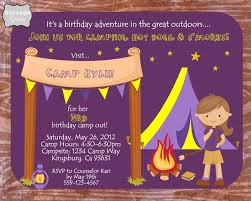 storage grace 3rd birthday camping party