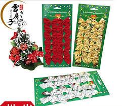 bags of christmas bows decorative bows 12pcs bag christmas tree decoration bowknot