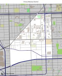 Uic Campus Map Map Of Building Projects Properties And Businesses In Illinois