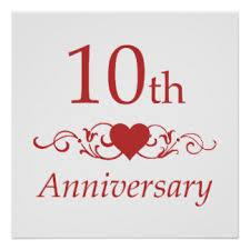 10th wedding anniversary emejing 10 yr wedding anniversary images styles ideas 2018